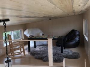 Tiny house loft for kids